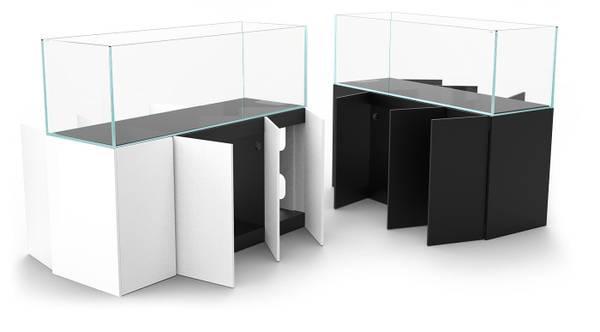 Bilde av Waterbox CLEAR PRO PENINSULA 6025 Black inkl møbel