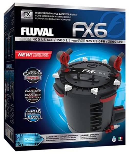 Bilde av  FLUVAL FX6 3500L/H 43W FOR AKV. < 1500L