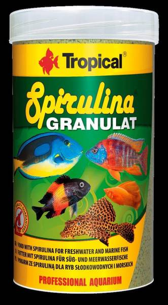 Bilde av SPIRULINA GRANULAT 250 ML